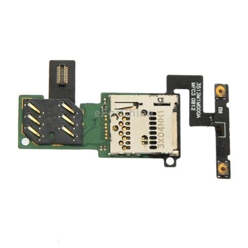 5 PCS / Lot Replacement Parts SIM Card Slot Flex Cable for Xiaomi M1
