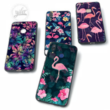 Cases For Huawei NOVA 3 3i Flamingo flower for P20 lite Pro Case P Smart P10 P8 P9 2017