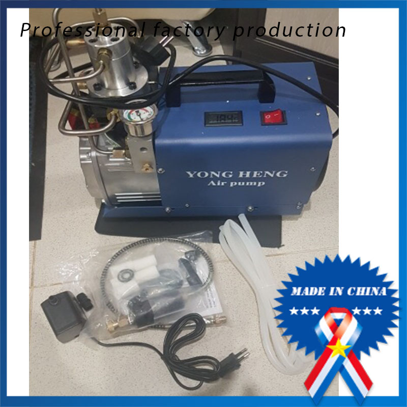 Adjustable Auto Stop 4500PSI 300 Bar 220V Electric High Pressure Water Cooling Airgun Scuba Air Compressor