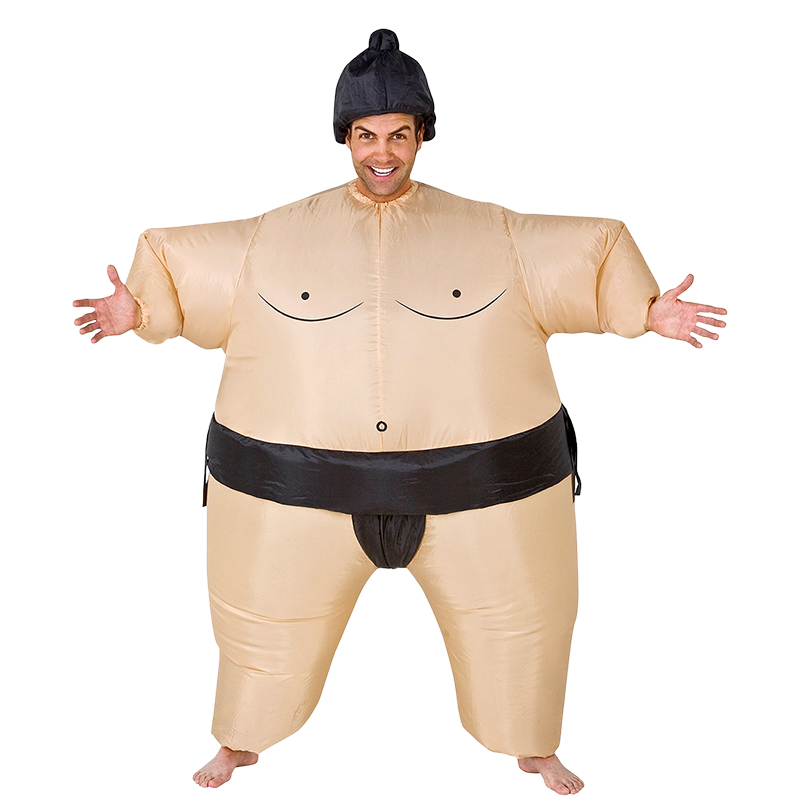 2018 New Inflatable Sumo Costume Adult Wrestler Costumes