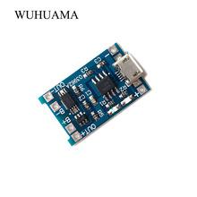 DIY 3V7 do ładowania dla Bluetooth moduł wzmacniacza Micro USB 5 V 1A 18650 bateria litowa moduł ładowarki do akumulatorów W ochrony podwójna funkcja tanie tanio Odtwarzacze MP3 Akcesoria Zestawy Ładowarka WUHUAMA Inne