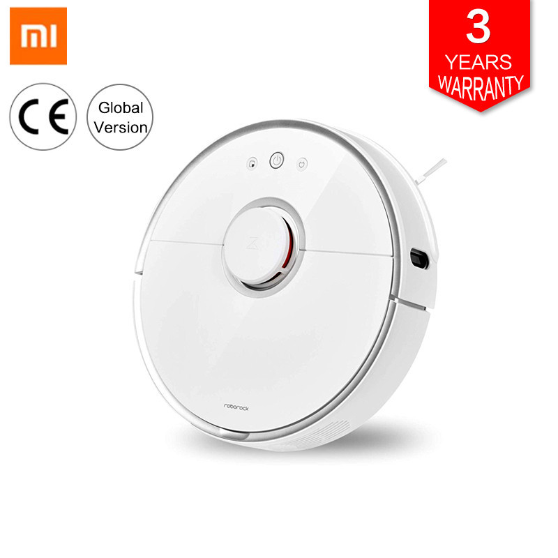 <font><b>Roborock</b></font> Vacuum Cleaner <font><b>2</b></font> <font><b>S50</b></font> S55 For <font><b>Xiaomi</b></font> Mi Home Mijia App Smart Cleaning Dust Intelligent Sweeping&wet Mopping Path Planned image