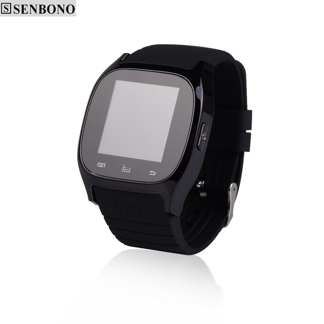 SENBONO Sport Smartwatch Bluetooth Music Player Smart Watch Alitmeter Pedometer