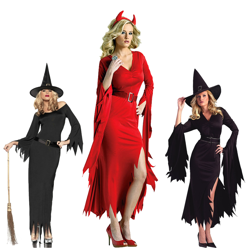 Popular Red Witch Costume-Buy Cheap Red Witch Costume lots from ...