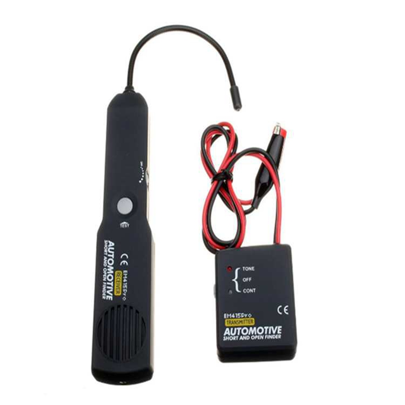 Automotive Short And Open Finder Universal Car Cable Wire Circuit Tracer EM415PRO Car Vehicle Repair Detector Tracer 6-42V DC