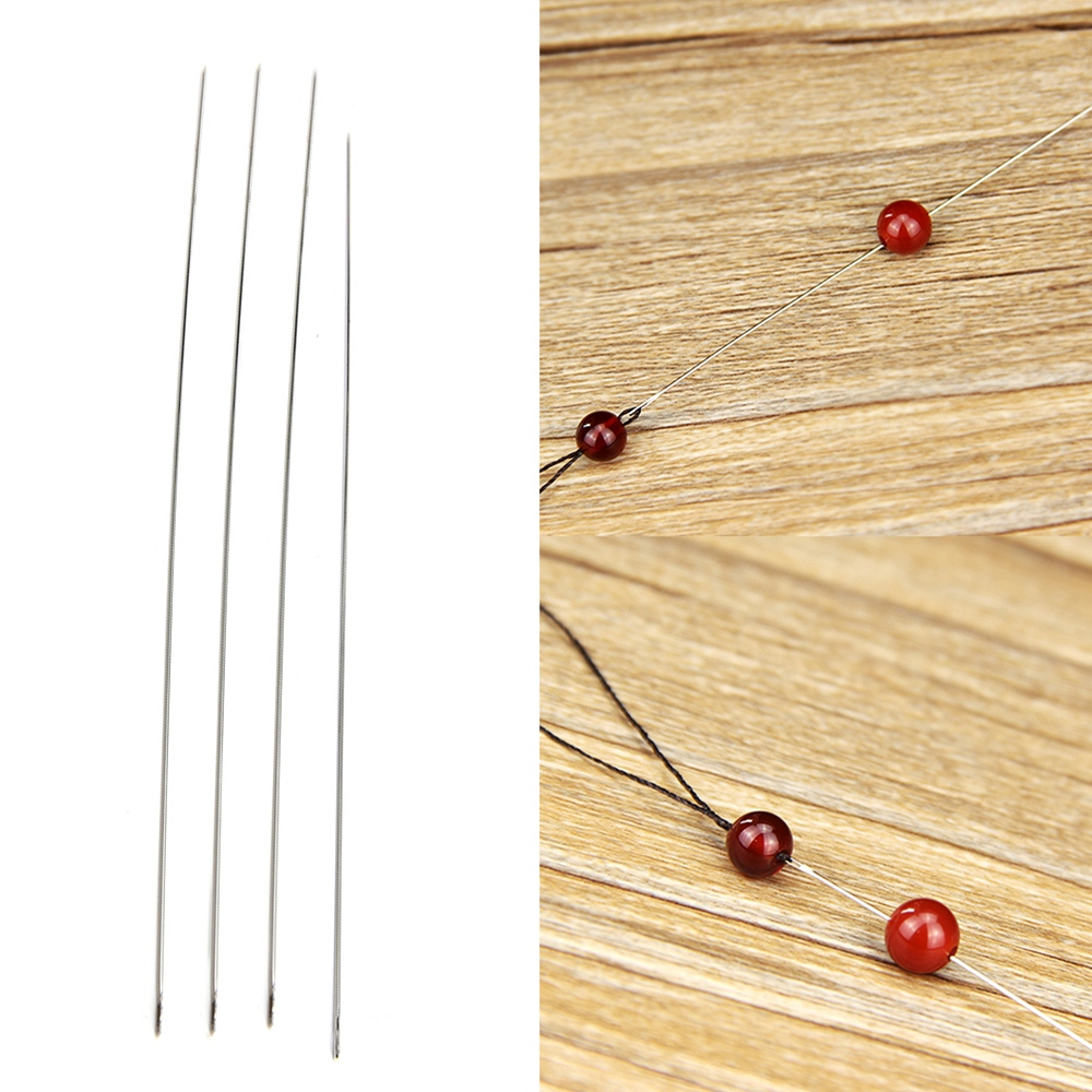 30pcs Branch Of Beaded Needle DIY Hand String Tool  DIY Hand Made Pins Jewelry Tools For Necklace& Jewelry