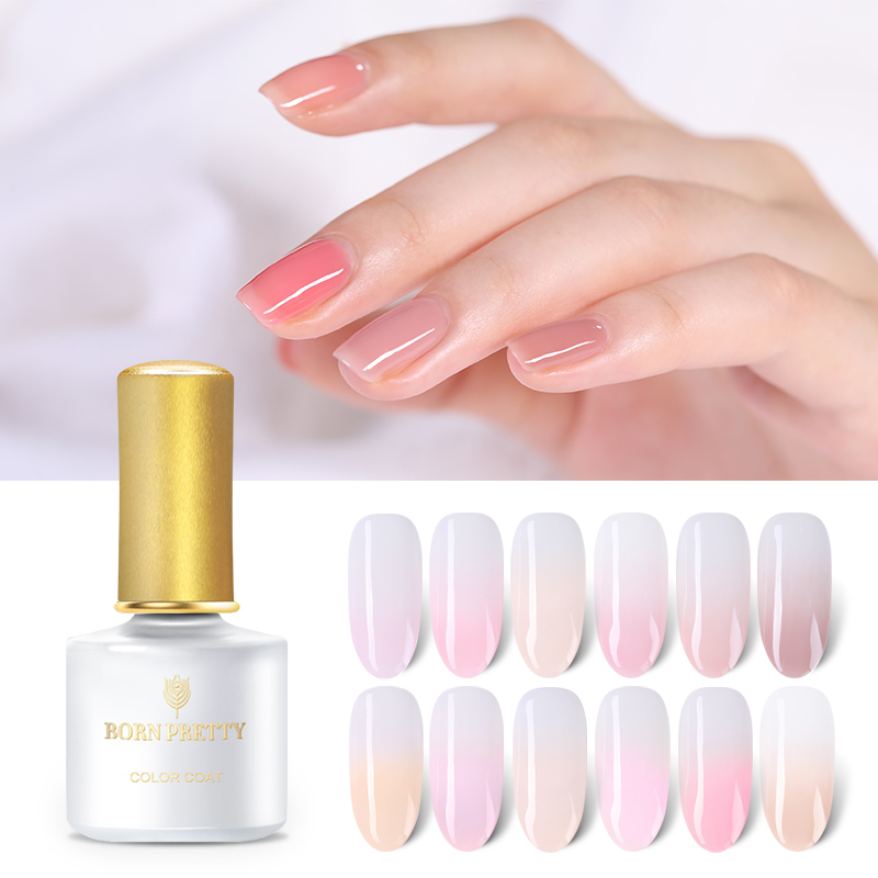BORN PRETTY Millennial Pink Gel Series Pure Color Nail Gel