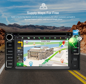 Image 3 - אוניברסלי אנדרואיד 9.0 DVD GPS ניווט רדיו וידאו נגן סטריאו 4G RAM + 64G ROM 2 דין Wifi bluetooth headunit מולטימדיה לרכב