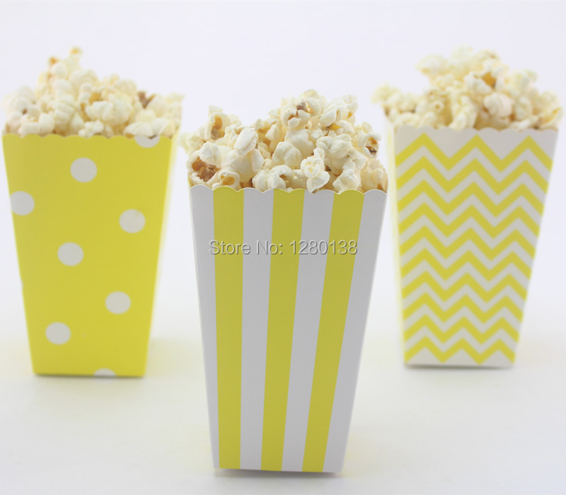 Aliexpress Buy 40pcs Small Movie Night Popcorn Boxes Kids New Decorative Popcorn Boxes