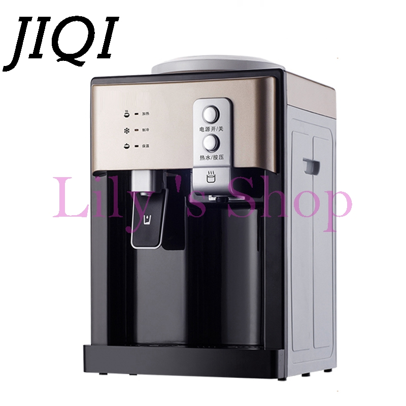 Electric warm and hot Drinking machine desktop hot cold water Dispenser mini household heating cooling water heater boiler EU US household mini electric induction cooker portable hot pot plate stove dorm noodle water congee porridge heater office eu us plug