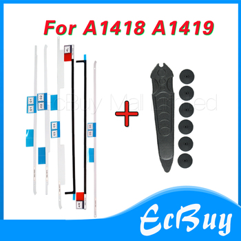 10sets lot genuine new a1418 lcd display tape adhesive repair kit for apple imac 21 5 strip glue foam sticker 2012 2017 year NEW A1418 A1419 Display Tape/Adhesive Strip/open LCD tool for iMac 27 21.5 A1418 A1419 076-1437 076-1422