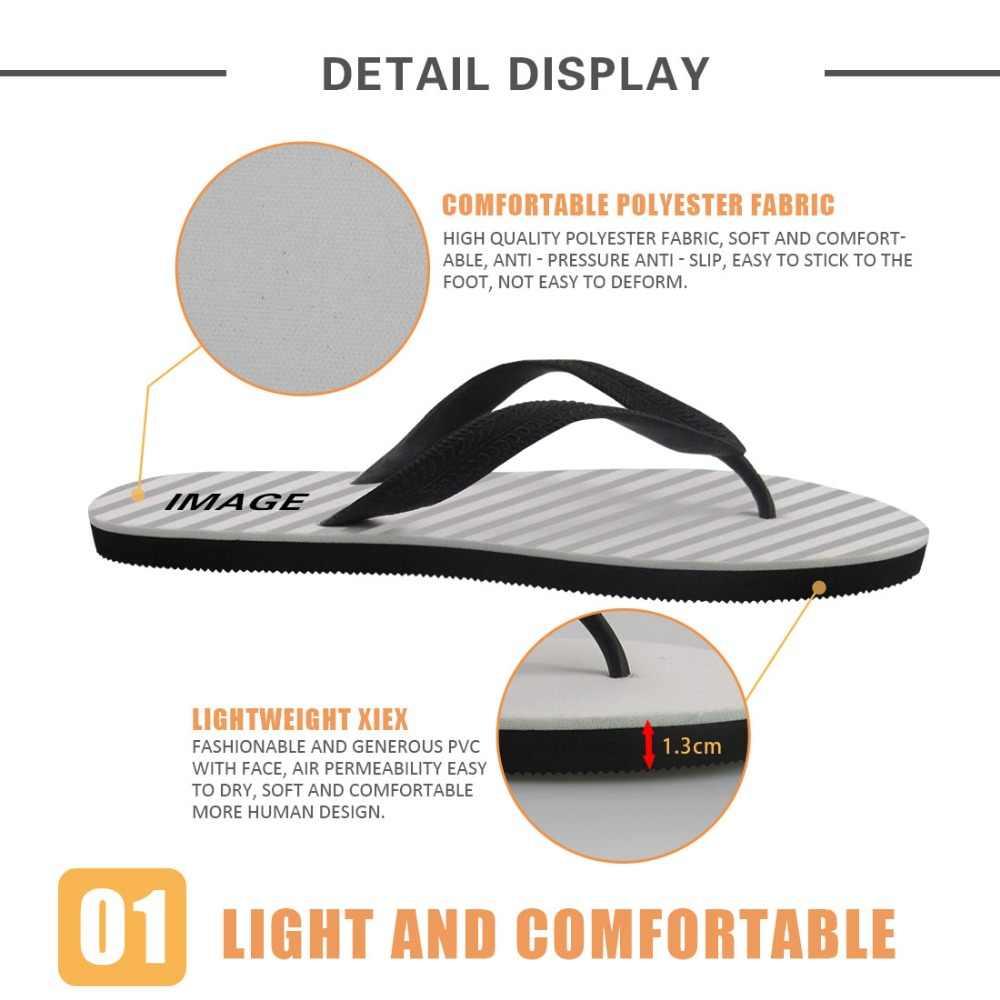 WHEREISTAR/Модные женские Вьетнамки по индивидуальному заказу; женские домашние тапочки; летняя пляжная обувь для девушек с 3D принтом и геометрическим узором
