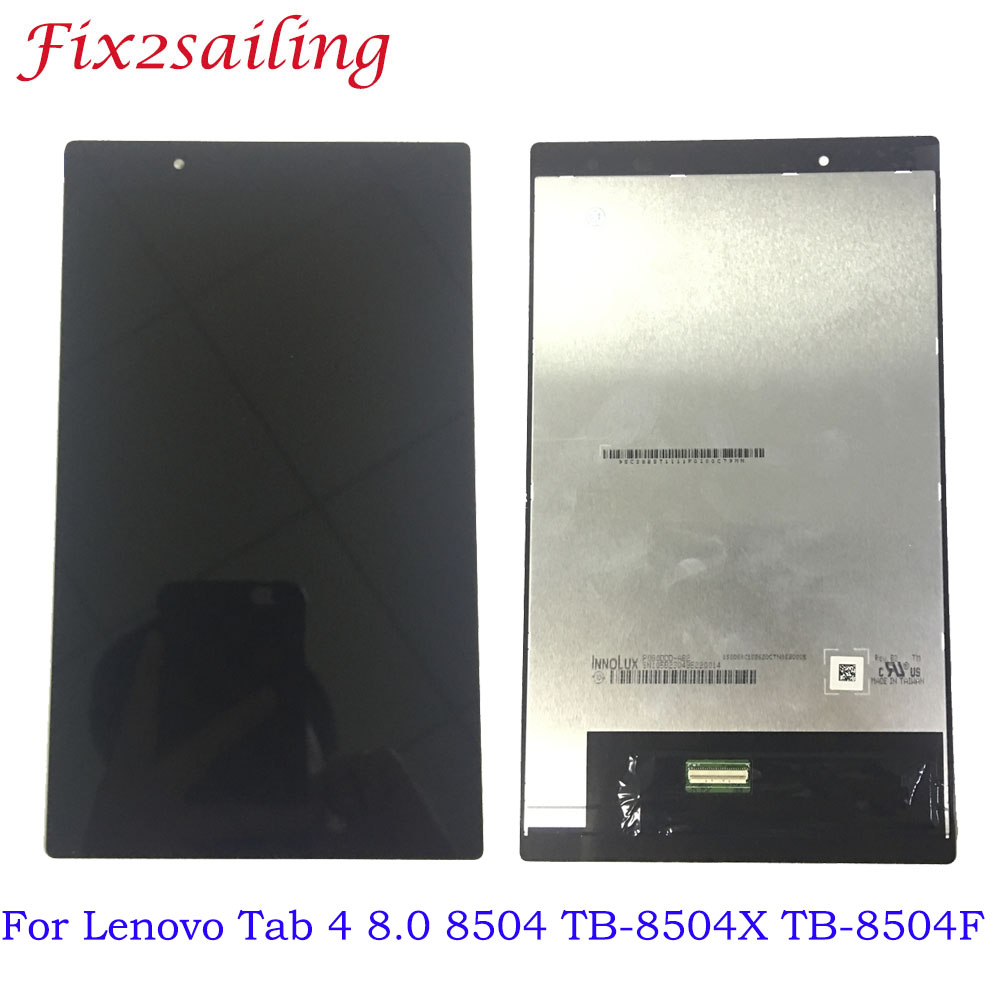 100% Tested LCDS For Lenovo Tab 4 8.0 8504 TB-8504X TB-8504F LCD Display + Touch Screen Digitizer Assembly Free Shipping 100% Tested LCDS For Lenovo Tab 4 8.0 8504 TB-8504X TB-8504F LCD Display + Touch Screen Digitizer Assembly Free Shipping