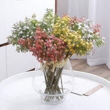 Klonca Fresh Natural PE Plastic 35cm 3pcs/lot Artificial Flower  Gypsophila Fake for Party Home Decoration