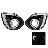 2pcs Lot Car Specific Daytime Running Light Super Bright DRL With Yellow Turn Signal Light Function