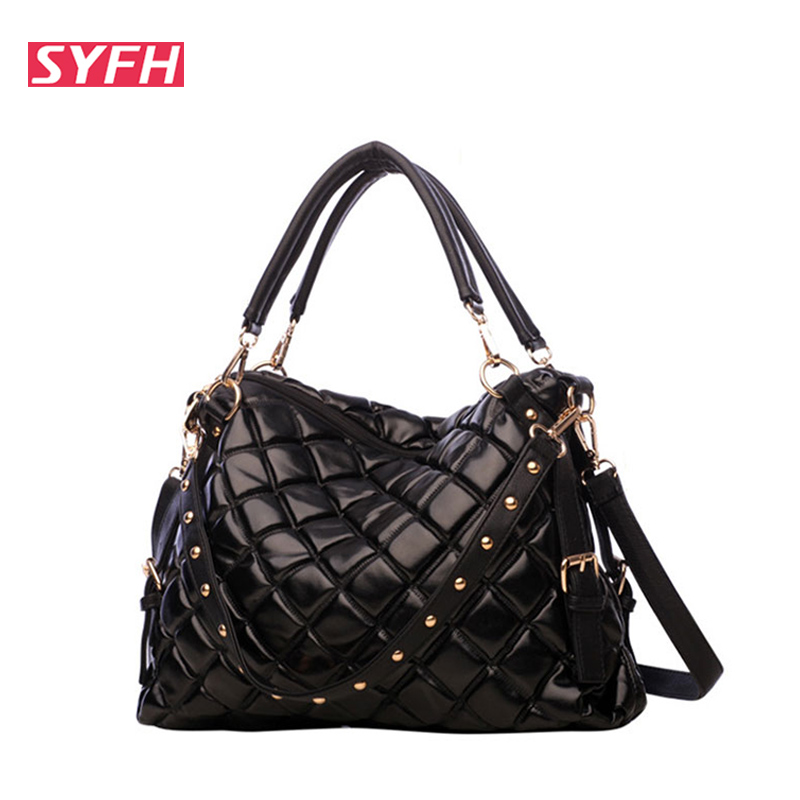 Online Get Cheap Black Quilted Tote Bag -Aliexpress.com | Alibaba ...