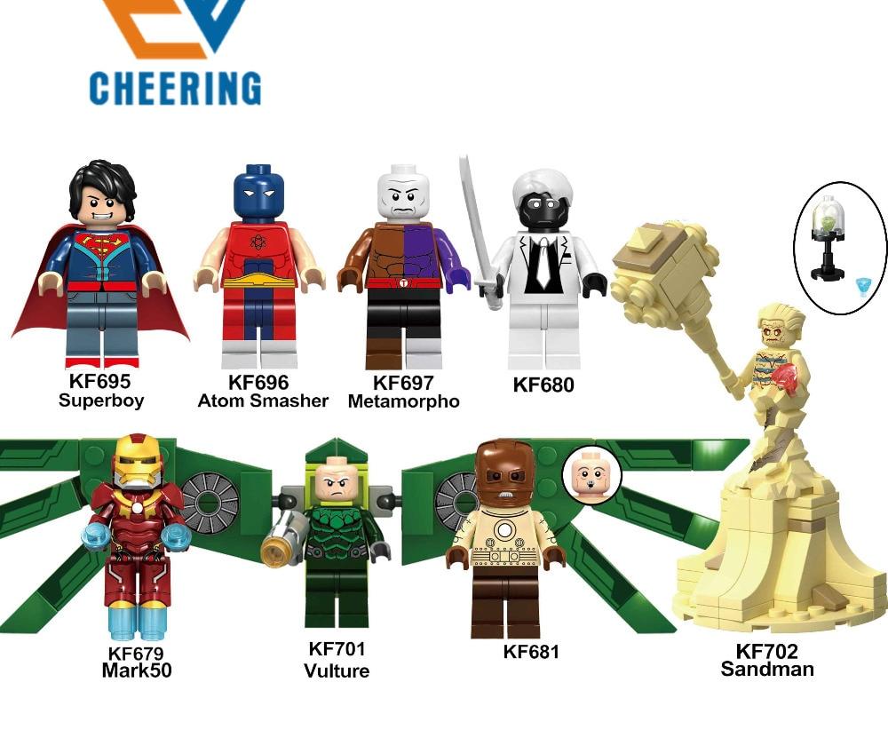 Model Building Lower Price with Single Sale Super Heroes Star Wars 797 Lex Luthor Model Mini Building Blocks Figure Bricks Toys Gifts Compatible Legoed Ninjaed Blocks