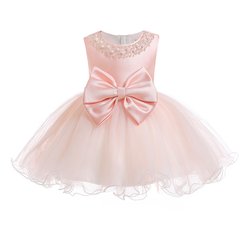 Baby dress Princess Girl wear Sleeveless Lace Dress for 0-3 year birthday party Toddler Costume Summer for Infant vestidos ems dhl free shipping toddler little girl s 2017 princess ruffles layers sleeveless lace dress summer style suspender