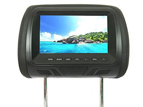 7 дюймов Автомобильный видео подголовник монитор мобильный ТВ дисплей экран для Lexus Toyota Acura Honda Skoda VW Citroen Mitsubishi Suzuki