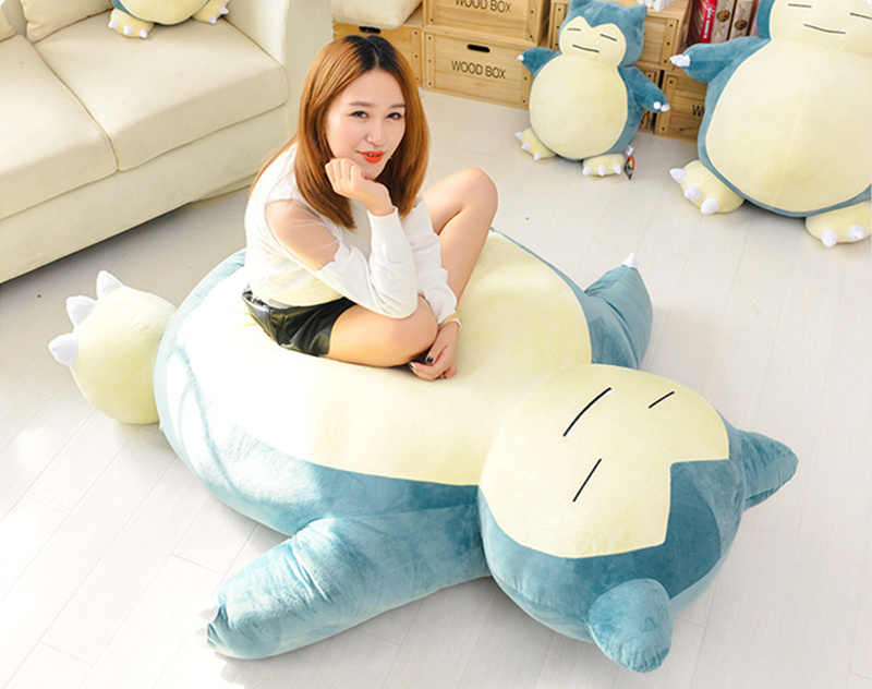 Excellent 59 Plush Anime Soft Stuffed Animal Doll Snorlax Plush Toys Pabps2019 Chair Design Images Pabps2019Com