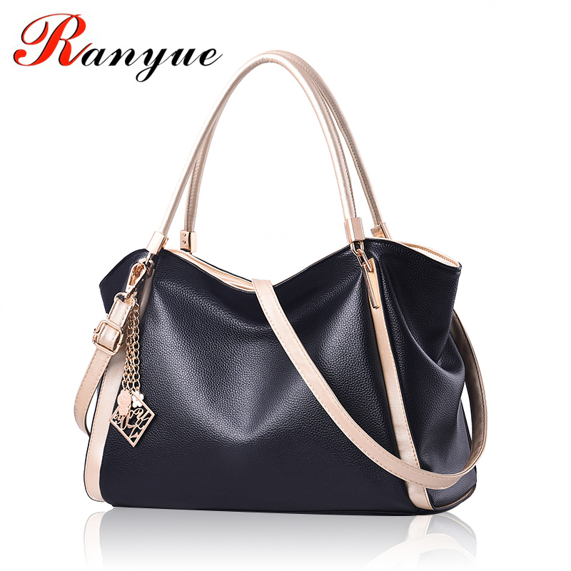 RANYUE Brand Luxury Women Handbags Famous Designer PU Leather Crossbody Bag European And American Style Women Handbag 2018 Sac