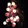 2.5m 20 Led Cotton Balls String Lights Christmas Luces De Navidad Wedding Party Bedroom Decorations Fairy Lamp Guirnalda Luces