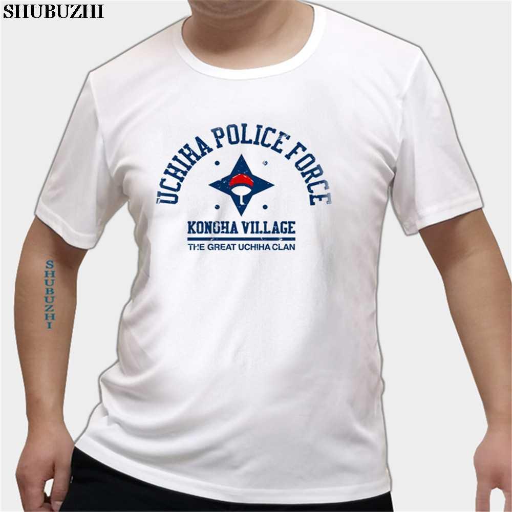 Длинные уличные футболки делая мужские рубашки с Наруто Учиха Academy мужчины s
