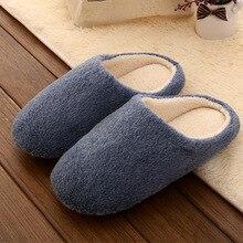 Мужские тапочки; сезон осень-зима; домашняя обувь; теплые плюшевые шлепанцы яркого цвета; женская домашняя обувь; мягкие тапочки; Pantuflas