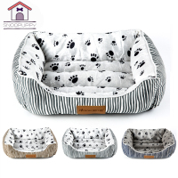 Cotton Pet Dog Beds For Large Dogs Pets House Bench Cats Dogs Sofas Bed Bench For Cat Bottom Waterproof Lounger Dogs Bed COO023