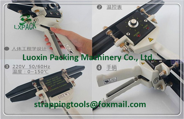 LX-PACK Lowest Factory Price Constant Heat Pedestal Sealers Pedestal Impulse Sealers Foot Pedal Operated Impulse Heat Sealers lx pack brand lowest factory price cup filling