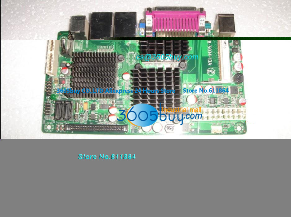 ФОТО SV1-F2726 ITXN270 Board 5 Double Network Board Industrial Control POS Machine Board 5 COM Ports 100% tested perfect quality
