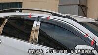 For HONDA CRV CR V 2012 2014 Window Visors Awnings Wind Rain Deflector Visor Guard Vent