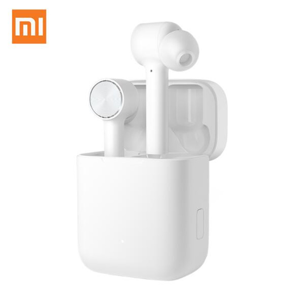 In stock Original Xiaomi Mi AirDots Bluetooth Earphones True Wireless Earbuds Touch Control with Charging Box