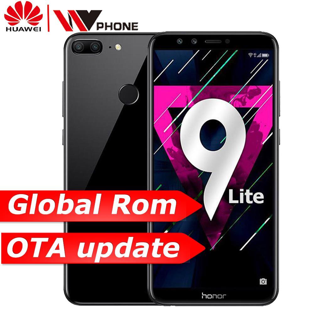 """Global Rom Huawe Honor 9 Lite 3g 32g 5.65"""" Octa Core 2160*1080p Mobile Phone 4*cameras 3000mah Fingerprint Id"""