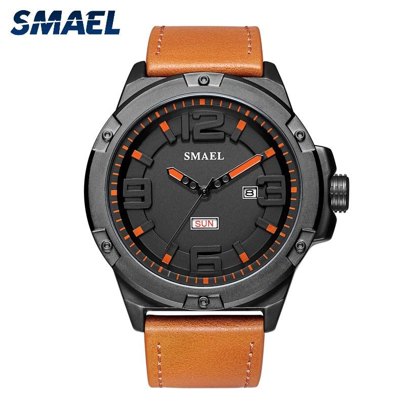 Man Watch 2019 New Fashion Week/Date Display Men Wrist Watch Water Resistant Clock 1313 Casual Quartz Watch Men reloj hombre