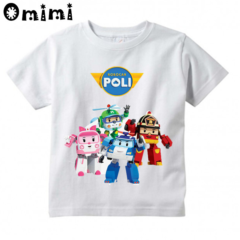 Creative Fat Cat Birthday Party Casual T-Shirt Short Sleeve for Kids