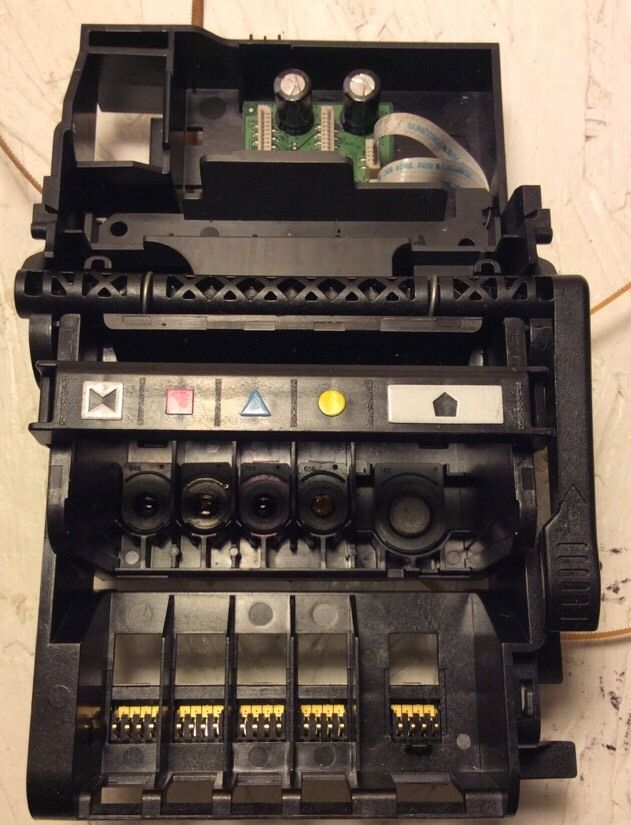 FREE SHIPPING 2015 NEW [Simon Hisaint] FOR HP OFFICEJET 7520 PRINT HEAD, ASSEMBLY, CARRIAGE, CATRIDGES