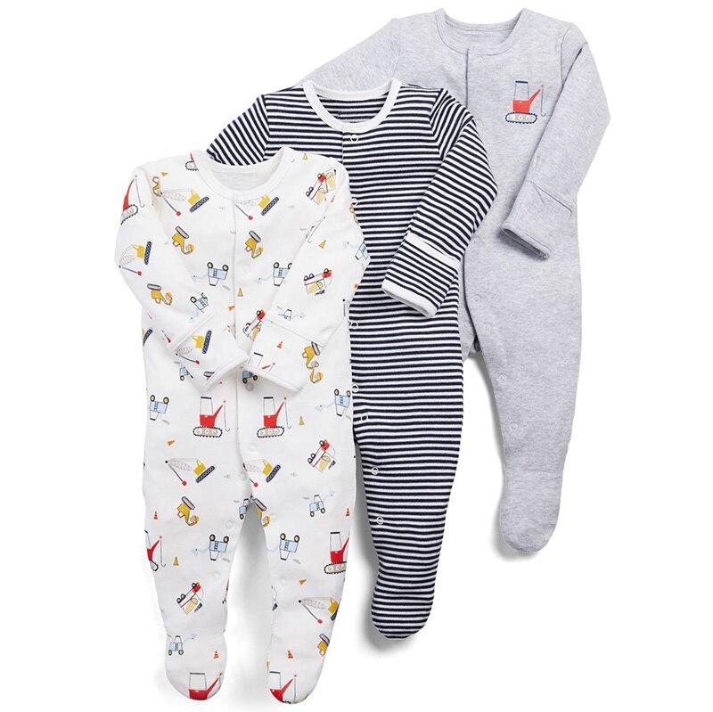 HTB1pQFbeEGF3KVjSZFvq6z nXXaa Baby Girl Romper Newborn Sleepsuit Flower Baby Rompers 2019 Infant Baby Clothes Long Sleeve Newborn Jumpsuits Baby Boy Pajamas