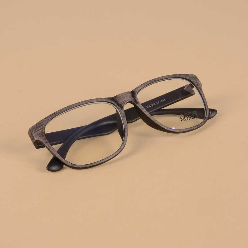 Vintage Merek Desain Asetat Bingkai Kacamata Frame Pria Wanita Retro Optik Kacamata Frame Classic Fashion Eyeglasses Myopia Frame