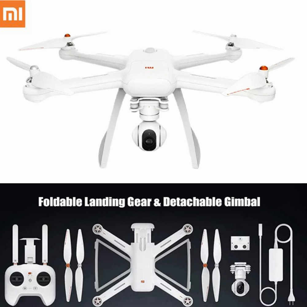 Original XIAOMI Mi Drone HD 4K WIFI FPV 5GHz Quadcopter 6 แกน Gyro 3840x2160 p/ 30fps RC Quadcopters พร้อมชี้เที่ยวบิน
