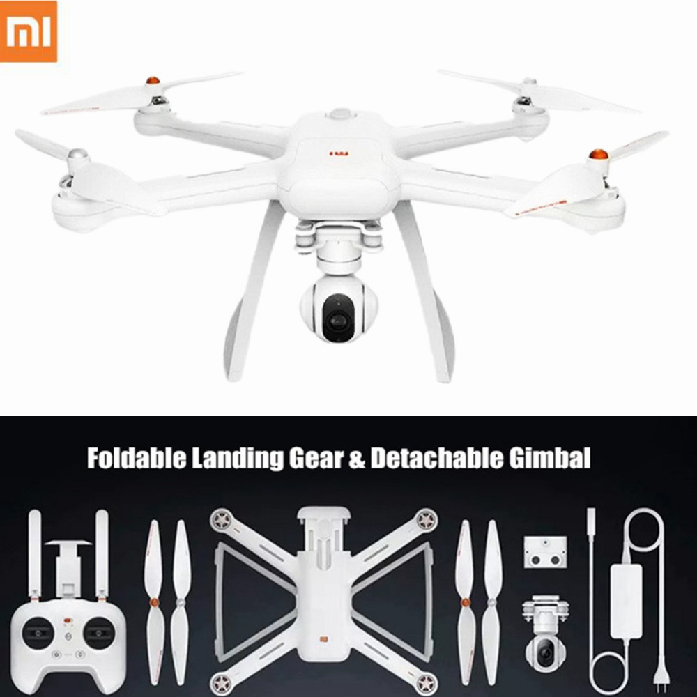 Original XIAOMI Mi Drone HD 4K WIFI FPV 5GHz Quadcopter 6 Axis Gyro 3840 x 2160p / 30fps RC Quadcopters with Pointing Flight flight fps 17