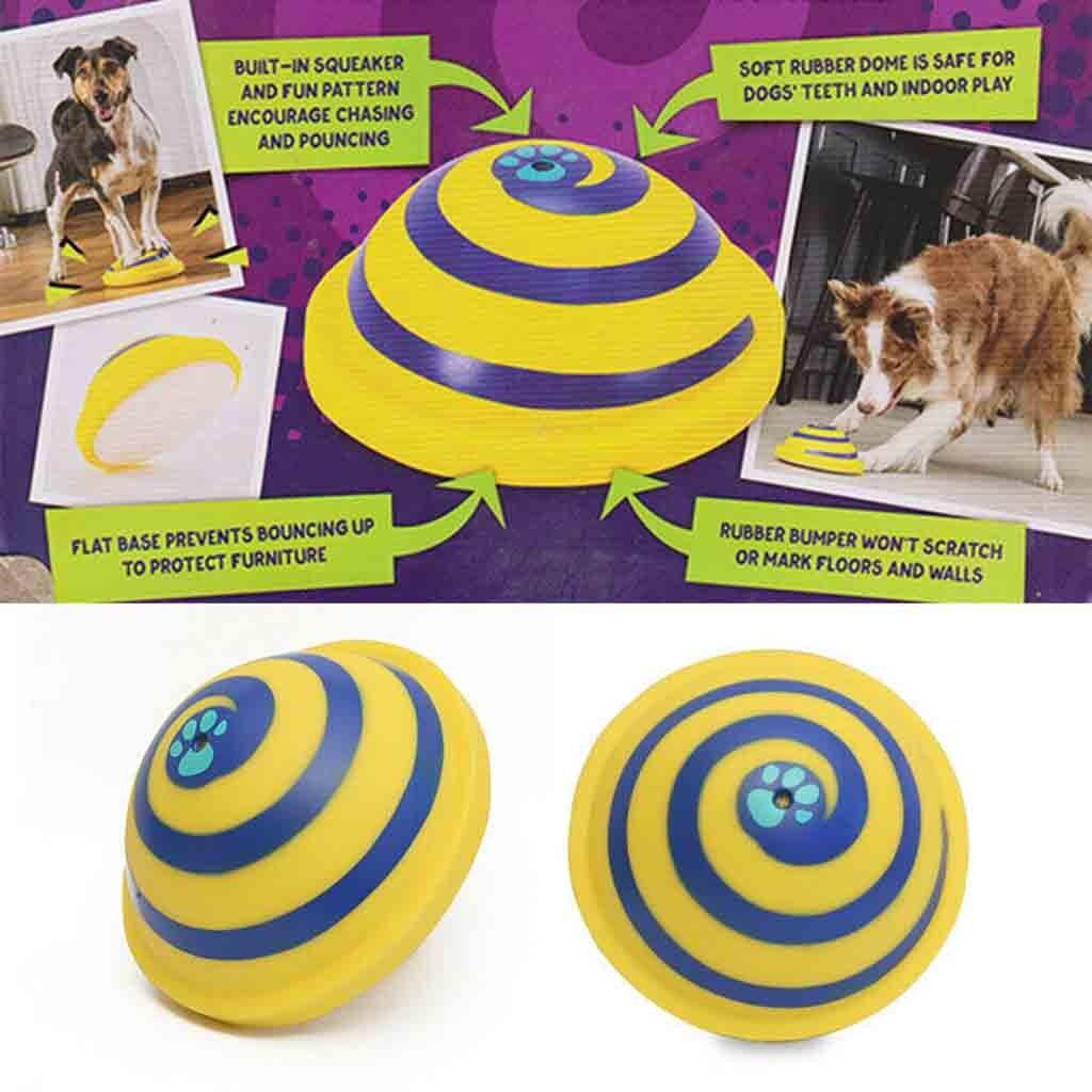 2019 neue Sounding Disc Schuß Segelflugzeug Soft & Sicher Indoor Spielen Spielzeug Pet Hunde Spielzeug Unterhaltung Haustier Spielzeug GH/ 0,8