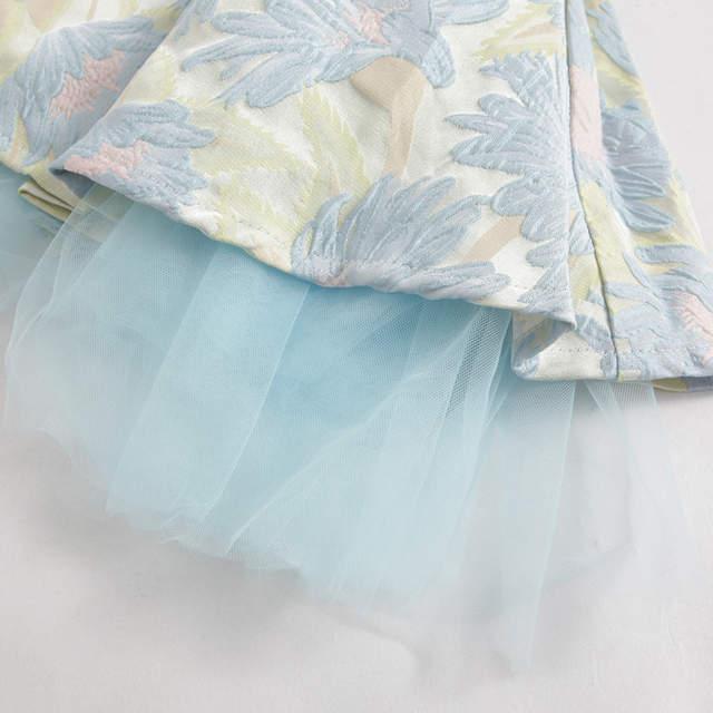 ChildDkivy Bebê Menina Vestido de Princesa 3-12 Anos As Crianças Vestidos  de Outono para 18343cf96de