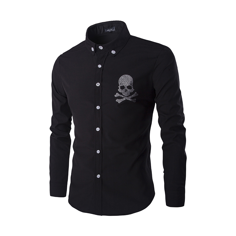 Online buy wholesale mens rhinestone dress shirts from for Bulk mens dress shirts
