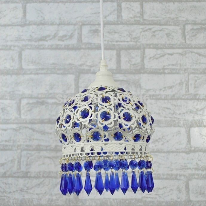 S size Bohemia Modern Blue K9 Crystal LED Pendant Lamps Fixture Home Decoration Lights Suspension Corridor Lighting Chandeliers schulze blue press line size 2 s