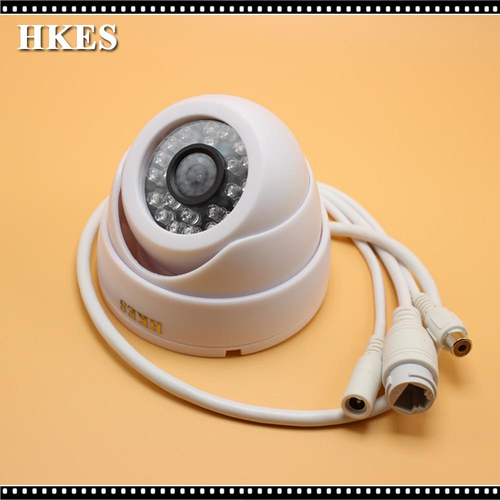 Wholesale 16pcs/lot Audio 960P IR Indoor IR Dome ONVIF Security Mini Night Vision P2P IP Cam IR Cut Filter 1.3 Megapixel Network