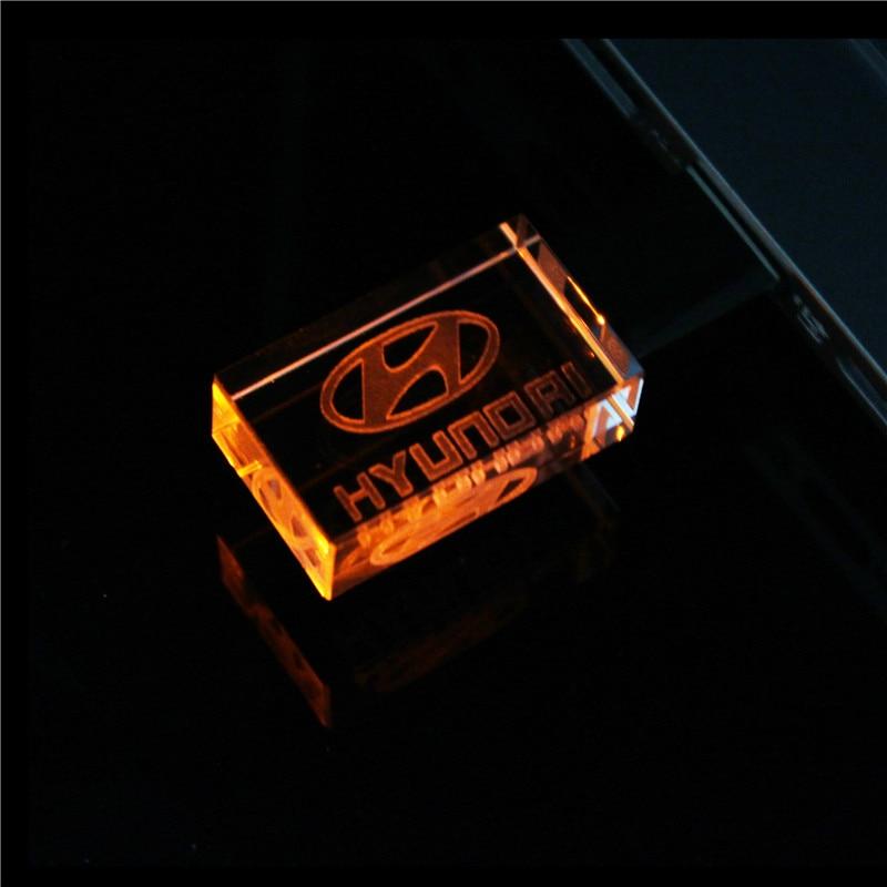 TEXT ME 64 Гб металл+ кристалл модель USB флэш-накопитель 4 ГБ 8 ГБ 16 ГБ 32 ГБ драгоценный камень ручка-накопитель специальный подарок - Цвет: Orange