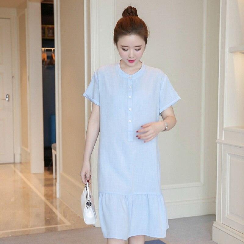 New summer maternity clothing maternity dresses pregnancy women dresses high quality dress maternity summer clothing 1609