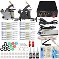 ITATOO Pens Tattoo Kit Cheap Tattoo Machine Set Kit Tattooing Ink Machine Gun Supplies For Beginner Weapon Professional TK108003