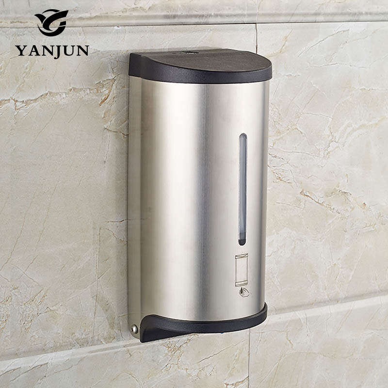 Yanjun 800ml Wall Mounted Automatic Soap Dispenser Liquid Soap Dispenser Touchless Bath Accessories YJ-2517